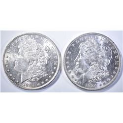 2-1884-O MORGAN DOLLARS, CH BU