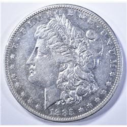 1885-S MORGAN DOLLAR, AU