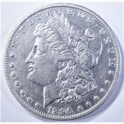 1896-O MORGAN DOLLAR, AU