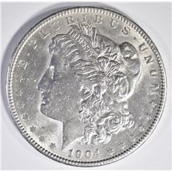 1904 MORGAN DOLLAR  AU/BU