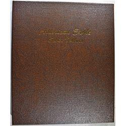 1986-2007 GEM BU AMERICAN SILVER EAGLES IN ALBUM