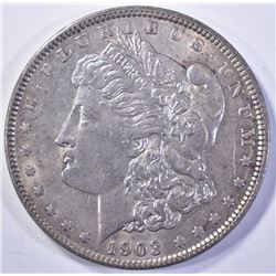1903 MORGAN DOLLAR  CH BU