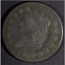 1811/10 LARGE CENT, VF