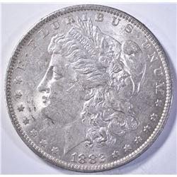 1882-O/S MORGAN DOLLAR, CH BU