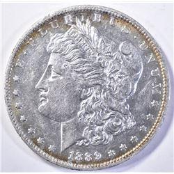 1889-O MORGAN DOLLAR, CH BU PL