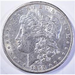 1898-S MORGAN DOLLAR, CH BU