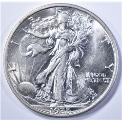 1935 WALKING LIBERTY CH BU +