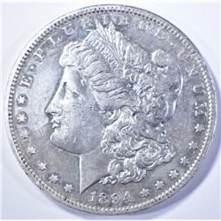 1894-S MORGAN DOLLAR AU KEY DATE