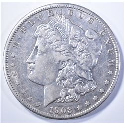 1903-S MORGAN DOLLAR AU KEY DATE