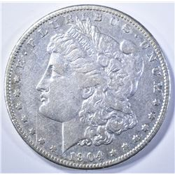 1904-S MORGAN DOLLAR XF