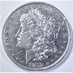 1878 8 TF MORGAN DOLLAR  AU/BU  SOME LIGHT MARKS