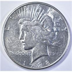 1928-S PEACE DOLLAR  AU/BU