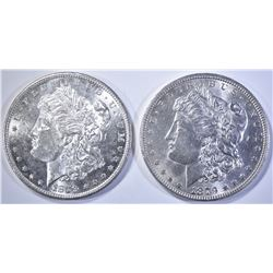 1879-P,S MORGAN DOLLARS  BU