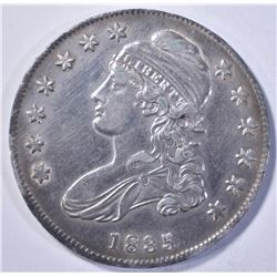 1835 BUST HALF DOLLAR, CH BU PROOF-LIKE SURFACES