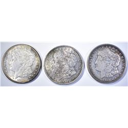 1921-P-D-S CIRC MORGAN DOLLARS