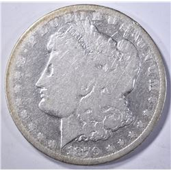 1879-CC MORGAN DOLLAR, VG/FINE