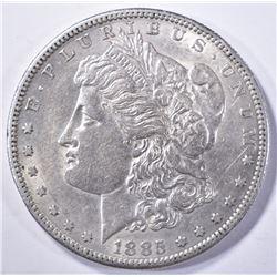 1885-S MORGAN DOLLAR, CH BU