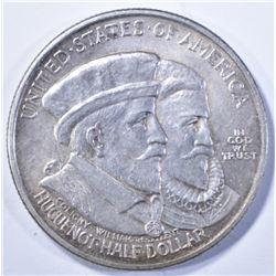 1924 HUGUENOT COMMEM HALF DOLLAR CH BU