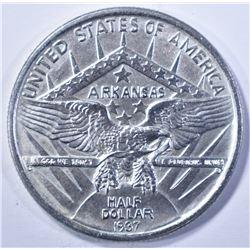 1937 ARKANSAS CENTENNIAL HALF DOLLAR