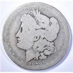1878-CC MORGAN DOLLAR, AG