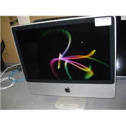 USED WORKING APPLE IMAC 20 INCH A1224 C2D, 2.4GHZ, 250.06GB, 4096MB RAM, OPTICAL DVD RW NO ACC.