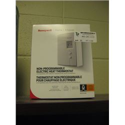 HONEYWELL - NON-PROGRAMABBLE ELECTRIC HEAT THERMOSTAT