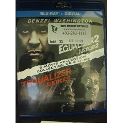 BLU-RAY + DIGITAL - THE EQUALIZER & THE EQUALIZER 2