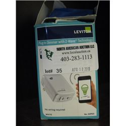 LEVITON - PLUG IN DIMMER WITH Z-WAVE TECHNOLOGY