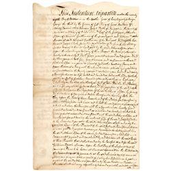 1769 Rhode Island Indenture, LAND BANK Related