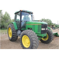1995JD 7400 MFWD TRACTOR