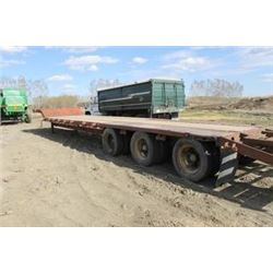 TRIDEM DROP DECK TRAILER