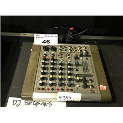 SOUNDCRAFT COMPACT 4 PORTABLE MIXER