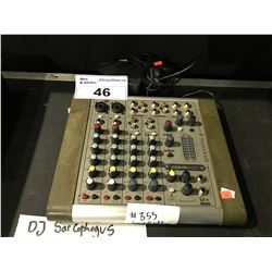 SOUNDCRAFT COMPACT 4 PORTABLE MIXER