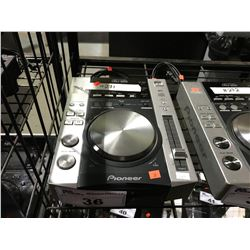 PIONEER CDJ-200 DJ TURNTABLE, COMPACT DISC PLAYER