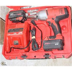 "MILWAUKEE 1/2"" IMPACT WRENCH 18V"