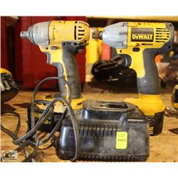 2 DEWALT CORDLESS IMPACT WRENCHES
