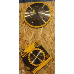 LOT OF DEWALT SAW BLADES