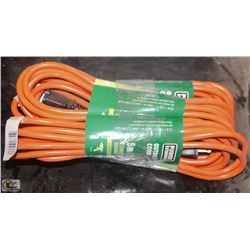 3 NEW 5 METER OUTDOOR EXTENSION CORDS
