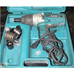 "MAKITA 1/2"" DRIVER IMPACT WRENCH WITH SOCKETS"
