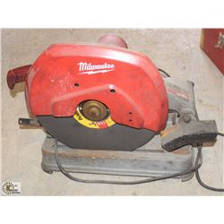 "MILWAUKEE 14"" ABRASIVE CUTOFF SAW"