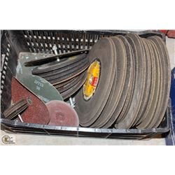 LOT OF ASSORTED ABRASIVES