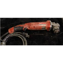 "MILWAUKEE 5"" ANGLE GRINDER"