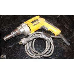 "DEWALT 1/4"" POWER SCREWDRIVER"