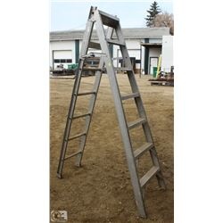 7 FOOT ALUMINUM STEP/EXTENSION LADDER
