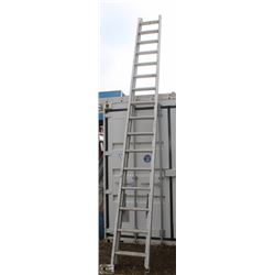 32 FOOT ALUMINUM EXTENSION LADDER