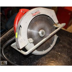 "MILWAUKEE 10.25"" HEAVY DUTY CIRCULAR SAW"