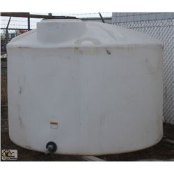 1250 GALLON WATER TANK