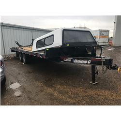 2017 DIAMOND C ROADCLIPPER 20' TRAILER