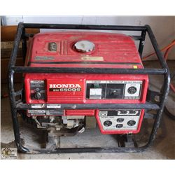 HONDA EM 6500S GAS GENERATOR