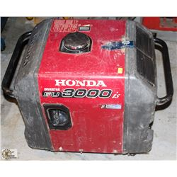 HONDA EU 3000IS GAS GENERATOR